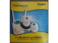 Tomy Walkabout premier digital baby monitor