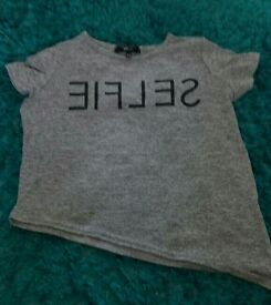 Girls top from new look age 10-11
