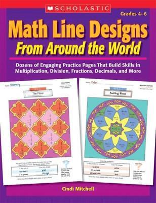 MATH LINE DESIGNS FROM AROUND THE WORLD - MITCHELL, CINDI - NEW PAPERBACK