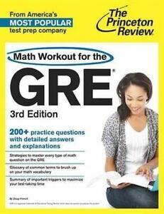 Math Workout for the GRE by Princeton Review (Paperback, 2013)