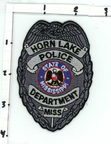 HORN LAKE POLICE MISSISSIPPI MS NICE NEW COLORFUL PATCH SHERIFF