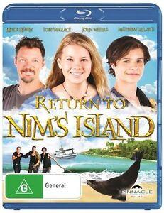 Return To Nim's Island (Blu-ray, 2013)