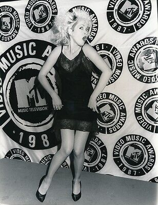 CYNDI LAUPER - ORIGINAL PRESS PHOTO - 1987 MTV AWARDS