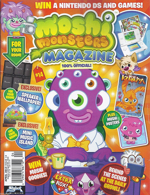 Everything You Need to Know About Moshi Monsters Magazine  eBay