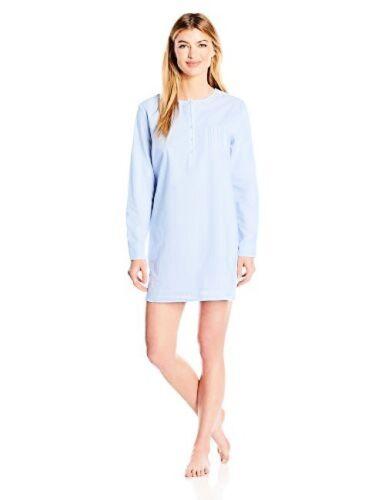 Pick SZ//Color. Nautica Womens Sleepwear Cotton Chambray Sleepshirt