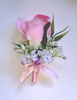 Wedding corsages and boutonnieres