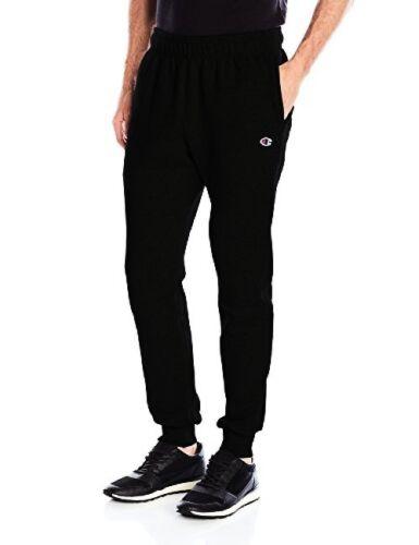 Champion Men's Powerblend Sweats Retro Jogger Pants Black XX