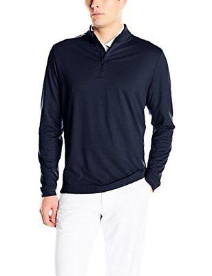 TaylorMade - Adidas Golf Apparel adidas Mens Adi 3-Stripes Classic 1/4 Zip