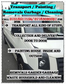 LWB VAN for TRANSPORT/COLLECTION&DELIVERY/CLEANING&REMOVALS/LANDSCAPING HOUSE&GARDEN COVENTRY&AROUND