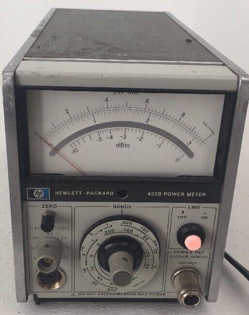 HP 435B Analog Power Meter