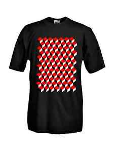 Maglietta-J224-scacchiera-3D-T-shirt-games-computer