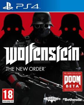 Wolfenstein the New Order (Playstation 4)