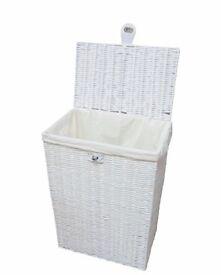 Large White Laundry Basket