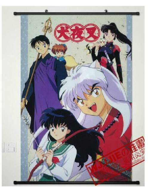 "Home Decor Anime Poster Wall Scroll Hot Inuyasha Sesshomaru Cosplay23.6""x 35.4"""