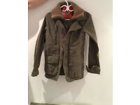 SuperDry military tan/olive men's jacket like new!