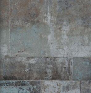 neu vlies tapete 47210 stein muster bruchstein anthrazit grau braun metallic bn. Black Bedroom Furniture Sets. Home Design Ideas