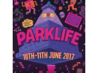 x1 parklife festival, Heaton Park Manchester 2017 ticket for sale