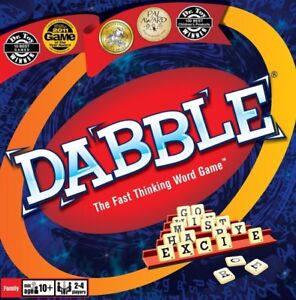 Dabble - The Fast Thinking Word Game - New in Sealed Box