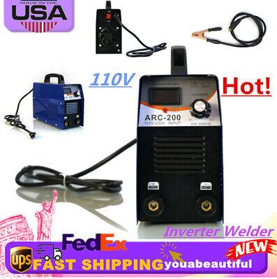 Arc-200 200-amp Stickarcmma Dc Igbt Inverter Welder Dual Voltage Welding 110v