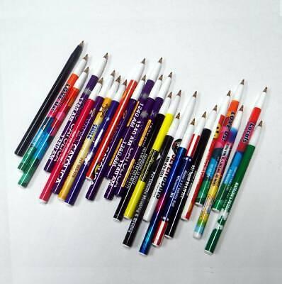 Lot Of 1000 Pens - Misprint Plastic Stick Pens No Caps
