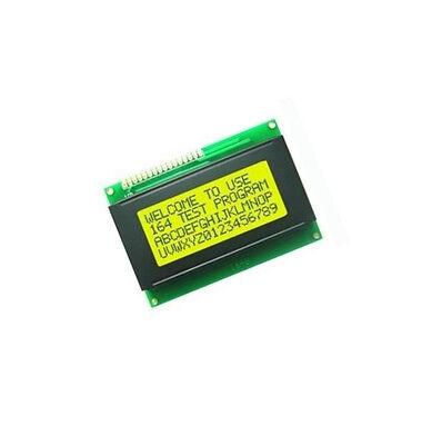 2pcs Lcd 16x4 1604 Character Lcd Display Module Lcm Yellow Blacklight 5v