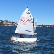 Optimist Sailing Dinghy Rose Bay Eastern Suburbs Preview