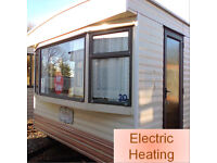 Static caravan 28 x 12 ft / 2 bedrooms, nice condition - bargain price, only £2,995!