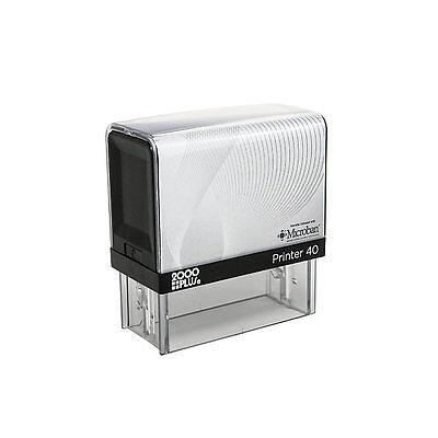 Printer 40 Ideal 200 Size 2000 Up To 6 Line Return Address Self Inking Stamp