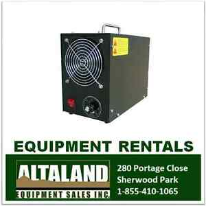 Remove Smoke and Odour - Ozone Generator Rental