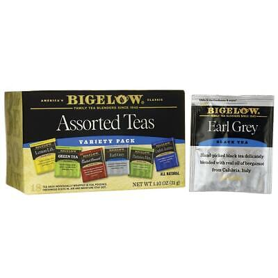 Bigelow Tea Six Assorted Tea Variety Pack 18 Bag(S)