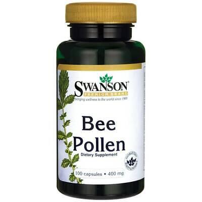 Swanson Bee Pollen 400 mg 100 Capsules