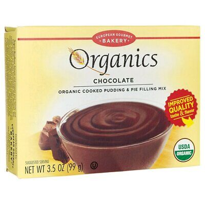 European Gourmet Bakery Organics Cooked Pudding & Pie Filling Mix - Chocolate