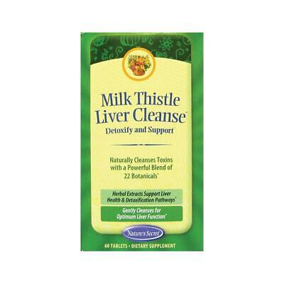 Nature's Secret Milk Thistle Liver Cleanse Tabs, 60 ct