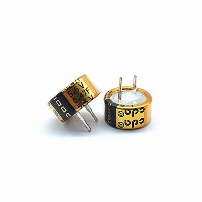 Cda Super Capacitor Button Type Farad Capacitor 5.5v0.47f Type C 474c 3pcs