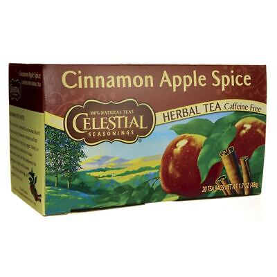 Celestial Seasonings Herbal Tea Cinnamon Apple Spice - Caffeine Free 20 Bag(S)
