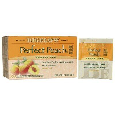 Bigelow Tea Perfect Peach Herb Tea - Caffeine Free 20 Bag(S)