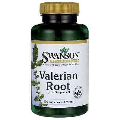 Swanson Valerian Root 475 mg 100 Caps
