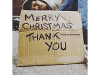 """Donations for """"Christmas for the homeless"""" in Gravesend"""