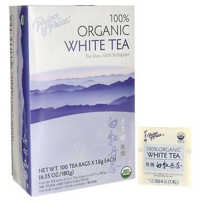 Prince of Peace 100% Organic White Tea 100 Bag(S) (100% Organic White Tea)