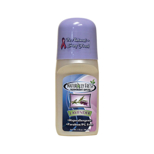 Naturally Fresh Roll-On Deodorant Crystal Lavender 3 fl oz Liquid