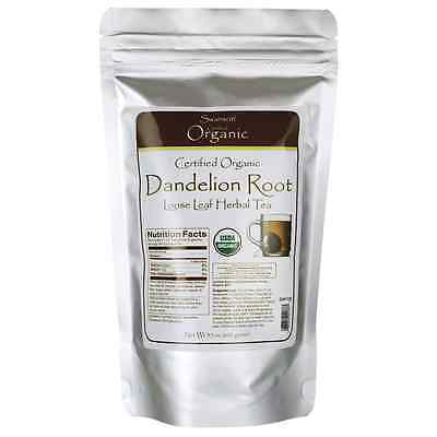 Swanson Certified Organic Dandelion Root Loose H 3.5 oz (100 grams) Pkg