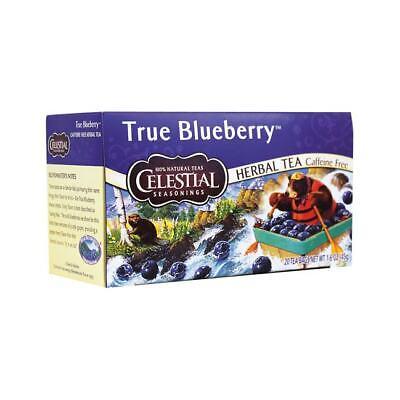 Celestial Seasonings Herbal Tea True Blueberry - Caffeine Free 20 Bag(S)