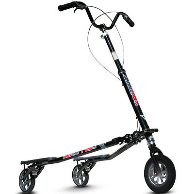 The tri-scooter promotes fun and fitness in one vehicle