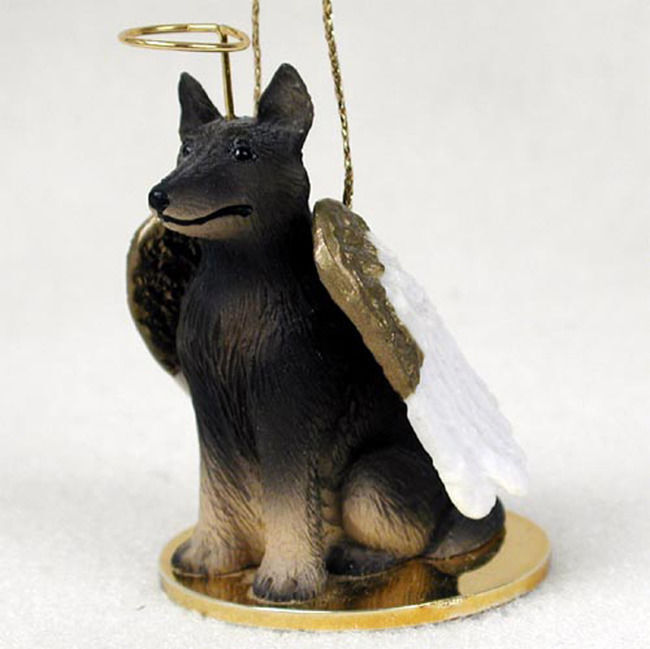 Belgian Tervuren Ornament Angel Figurine Hand Painted