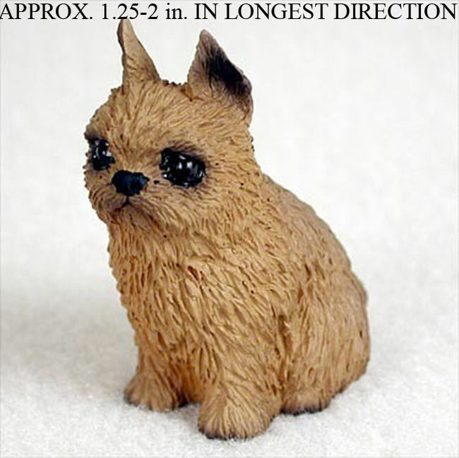 Brussels Griffon Mini Hand Painted Figurine