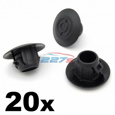 20x Sideskirt & Sill Moulding Plastic Clips for Toyota Land Cruiser and Prado