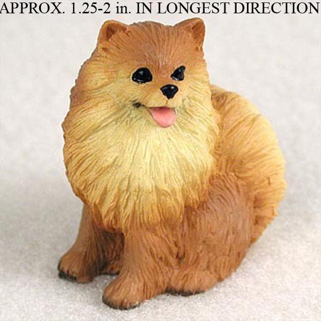 Pomeranian Mini Figurine