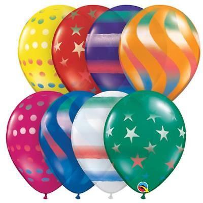 "Qualatex Latex Balloon 11"" Jewel Assort. 25 Pack , used for sale  Warren"