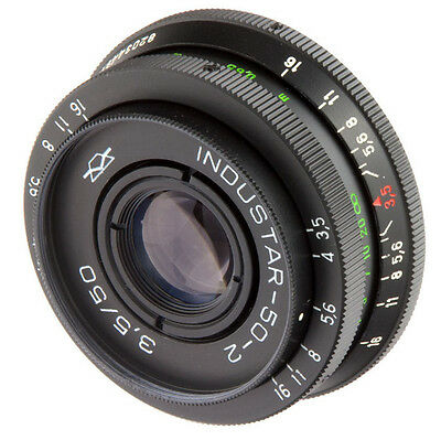 US Seller INDUSTAR 50-2 EXC 3.5/50 M42 Portrait Lens  Helios KMZ Tessar copy