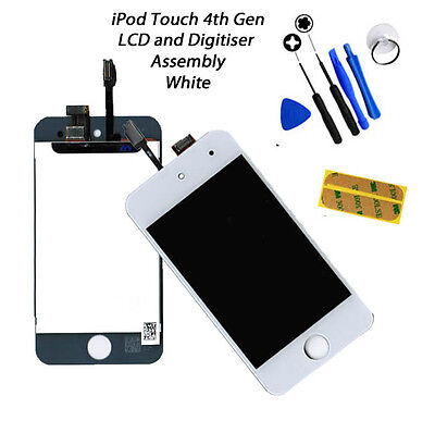 Usado, NEW LCD & Digitiser Touch Screen Replacement FOR iPod Touch 4G 4th Gen - WHITE segunda mano  Embacar hacia Spain